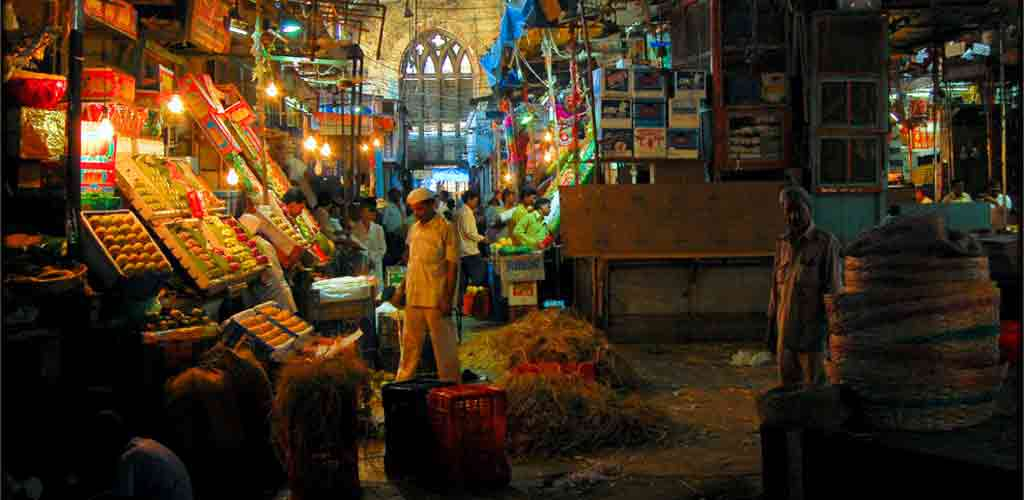 Shopping Crawford Market Mumbai